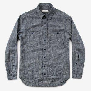 Taylor Stitch Hemp Chambray Shirt 44